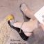 รองเท้าแตะริสตัลสไตล์แฟชั่นเกาหลี (สีดำ) thumbnail 4