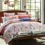 (Pre-order) ชุดผ้าปูที่นอน ปลอกหมอน ปลอกผ้าห่ม ผ้าคลุมเตียง ผ้าฝ้ายพิมพ์ลายดอกไม้สไตล์วินเทจ เปอร์โตริโกเซ็ท thumbnail 1