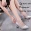 รองเท้าคัทชูส้นฝังเพชร (สีดำ) thumbnail 8