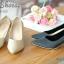 รองเท้าคัทชูหนัง Saffiano (สีดำ) thumbnail 3