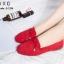 รองเท้าส้นแบน Style Tods (สีครีม) thumbnail 9