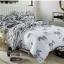 (Pre-order) ชุดผ้าปูที่นอน ปลอกหมอน ปลอกผ้าห่ม ผ้าคลุมเตียง ผ้าโพลีเอสเตอร์พิมพ์ลายม้าลายขาว-ดำ thumbnail 1