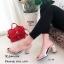 รองเท้าส้นตันสวมใสนิ่ม (สีดำ) thumbnail 7