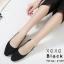 รองเท้าคัทชูรัดส้นทรงหัวกลม (สีชมพู) thumbnail 10