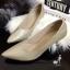 รองเท้าคัทชูหัวแหลม (สีทอง) thumbnail 1