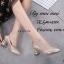 รองเท้าคัทชูส้นฝังเพชร (สีดำ) thumbnail 5