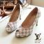 รองเท้าคัทชู Loius Vuitton Damier (ขาว) thumbnail 1
