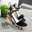 รองเท้าส้นเตารีด Platform GC (สีแดง) thumbnail 9