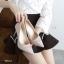รองเท้าคัทชูกากเพชร (สีดำ) thumbnail 8