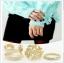 R-15.เซทแหวน 3 ชิ้น สีเงิน/ทอง thumbnail 2