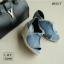 รองเท้าส้นเตารีดส้นหวาย (สีเบจ) thumbnail 8