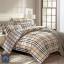 (Pre-order) ชุดผ้าปูที่นอน ปลอกหมอน ปลอกผ้าห่ม ผ้าคลุมเตียง ผ้าฝ้ายพิมพ์ลายสก๊อต thumbnail 1
