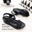 รองเท้าลำลองเย็บลาย (สีดำ) thumbnail 3