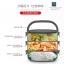 Pre-order ปิ่นโตกล่องอาหารกลางวันเก็บความร้อน ปิ่นโตสแตนเลสสตีล หุ้มด้วยพลาสติกสวยงาม3 ชั้น thumbnail 5
