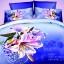 (Pre-order) ชุดผ้าปูที่นอน ปลอกหมอน ปลอกผ้าห่ม ผ้าคลุมเตียง ผ้าฝ้ายพิมพ์ 3D รูปดอกไม้ thumbnail 1