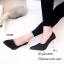 รองเท้าคัทชูกลิตเตอร์ส้นโลโหะ (สีเงิน) thumbnail 8