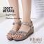 รองเท้าส้นเตารีดสไตล์ BaoBao (สีเทา) thumbnail 2