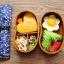 (พรีออเดอร์) กล่องข้าวไม้ กล่องข้าวญีปุ่น เบนโตะ กล่องห่ออาหารกลางวัน ไม้แท้ ลายสวย ปลอดภัย ทรงเม็ดถั่ว สองชั้น สีโอ๊ค thumbnail 2