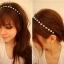 BRIDAL HAIR COLLAR H-08 thumbnail 1