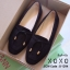 รองเท้าส้นแบน Style Tods (สีครีม) thumbnail 5