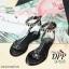 รองเท้าลำลองสไตล์ Givenchy (สีดำโซ่ดำ) thumbnail 10