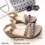 รองเท้าส้นเตารีดสไตล์ BaoBao (สีเทา) thumbnail 1