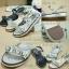 พร้อมส่ง : รองเท้าแตะเสริมส้น MIUMIU (สีดำ) thumbnail 4