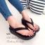รองเท้าแตะ Fitflop Comfort แบบคีบ (สีดำ) thumbnail 1