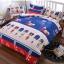 (Pre-order) ชุดผ้าปูที่นอน ปลอกหมอน ปลอกผ้าห่ม ผ้าคลุมเตียง ผ้าโพลีเอสเตอร์พิมพ์ลายการ์ตูนแฟนซีลายสามทหาร thumbnail 1