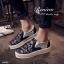 รองเท้าผ้าใบเสริมส้นแต่งลายลูกไม้ (สีขาว) thumbnail 6