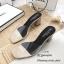 รองเท้าส้นตันสวมใสนิ่ม (สีดำ) thumbnail 9