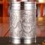 (พรีออเดอร์) แก้วน้ำชาดีบุก ใส่น้ำร้อนน้ำเย็น ดีบุกหล่อรูปเรือ รูปพระราชวัง และรูปมังกร 3 แบบ thumbnail 1