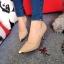 รองเท้าคัทชูหัวทองทรงหุ้มส้น (สีดำ) thumbnail 3