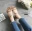 รองเท้าแตะรัดส้นสไตล์ลำลอง (สีครีม) thumbnail 2