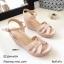 รองเท้าส้นเตารีดหนังเงาสไตล์ YSL (สีดำ) thumbnail 6