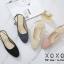 รองเท้าคัทชูรัดส้นทรงหัวกลม (สีชมพู) thumbnail 11