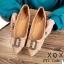 รองเท้าส้นแบนแต่งอะไหล่ Style Gucci (สีครีม) thumbnail 13