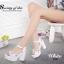 รองเท้าแพลตฟอร์มแต่งเพชร (สีขาว) thumbnail 2