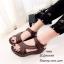 รองเท้าลำลองเย็บลาย (สีดำ) thumbnail 5