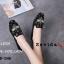 รองเท้าคัทชูทรงสวมปักลายผึ้ง Style Gucci (สีครีม) thumbnail 8