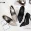รองเท้าคัทชูส้นสูงกลิตเตอร์ (สีดำ) thumbnail 7