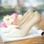 รองเท้าคัทชูหนัง Saffiano (สีดำ) thumbnail 2