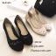 รองเท้าคัทชูลูกไม้ซีทรู (สีดำ) thumbnail 8