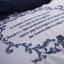 (Pre-order) ชุดผ้าปูที่นอน ปลอกหมอน ปลอกผ้าห่ม ผ้าคลุมเตียง ผ้าไหม ผ้าซาติน และผ้าฝ้าย สีน้ำเงิน-ขาว thumbnail 7