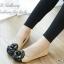 รองเท้าคัทชู Style Chanel (สีครีม) thumbnail 2