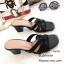 รองเท้าส้นตันเปิดส้น Style YSL (สีครีม) thumbnail 5