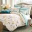 (Pre-order) ชุดผ้าปูที่นอน ปลอกหมอน ปลอกผ้าห่ม ผ้าคลุมเตียง ผ้าฝ้ายพิมพ์ลายดอกไม้สไตล์วินเทจ แมรี่แลนด์เซ็ท thumbnail 1