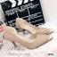 รองเท้าคัทชูหัวทองทรงหุ้มส้น (สีดำ) thumbnail 4