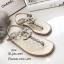 รองเท้าแตะแต่งเพชรสไตล์ CC (สีดำ) thumbnail 8