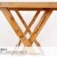 Pre-order โต๊ะทำงานไม้ไผ่ปรับระดับ โต๊ะคอมพิวเตอร์ไม้ไผ่ปรับระดับ โต๊ะอเนกประสงค์ปรับระดับ รุ่นแผ่นท้อปเว้า สีไม้ thumbnail 6